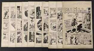 Tally-Ho Comics. Original 10 Page Story.