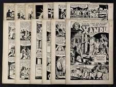 Trophy Comics #1. 9 Page Golden Age Story.
