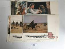 John Wayne Lot of Three Lobby Card Sets