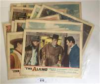 John Wayne The Alamo2  Lobby Card Sets