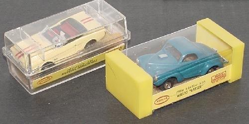 21: HO AURORA RACE CARS.