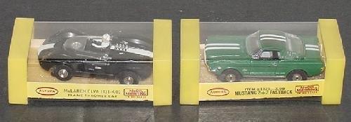 23: HO AURORA RACE CARS.