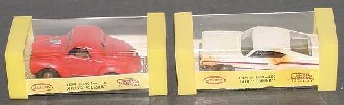 24: HO AURORA RACE CARS.