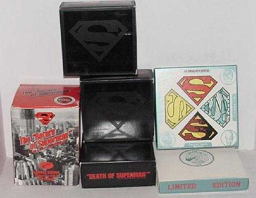 238 6 boxed superman fossil watches freerunsca Choice Image