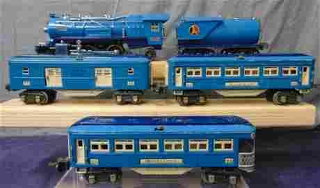 Lionel 263E Blue Comet Set