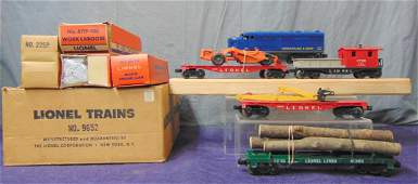 Unusual Boxed Lionel Sears Set 9652