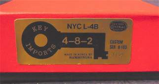 Key Brass N Scale NYC L-4B