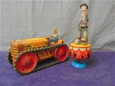 2 Vintage Wind-up Toys