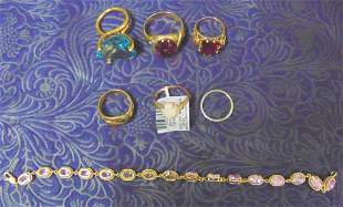 Estate Jewelry Lot.,