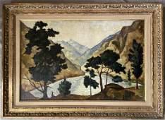 Achille-Emile Othon Friesz (1879 - 1949) Oil.