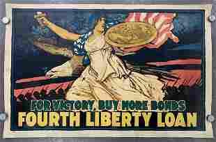 """J. Scott Williams, """"Fourth Liberty Loan"""" Poster"""