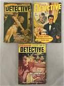 Private Detective Magazine. Lot of Three