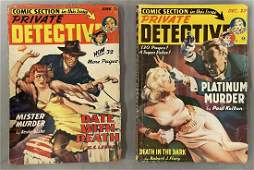 Private Detective Magazine. Lot of Two.