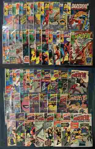 Marvel Comic Book Lot, Daredevil