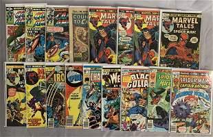 High Grade Bronze Age Marvel Comic Lot.