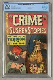 Crime SuspenStories. #22 CBCS.