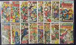 1970's Marvel Comic Lot.
