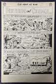 Joe Kubert. Our Army at War #127. Comic Page