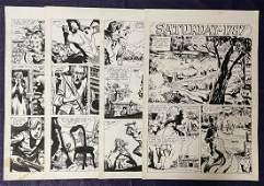 Ric Estrada. Four Page Story.