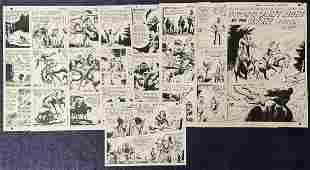 Russ Heath. Our Army at War. Original Story Art.