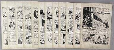 Complete 12 Page Comic Story. Golden Age.