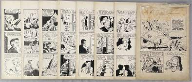 Complete 8 Page Comic Story. Golden Age.