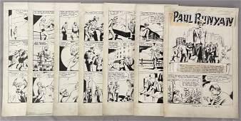 Treasure Comics. 7 of 8 Page Story.