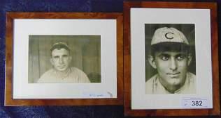 Lot of Two Original Baseball Photos.