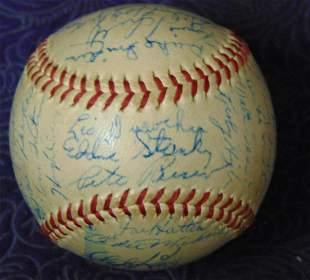 Interesting Signed Baseball.