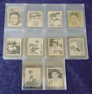 1948 Bowman Baseball Card Set Complete.