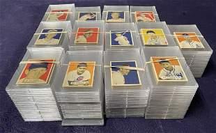 1949 Bowman Baseball Card Near Set.