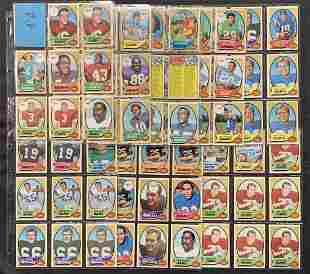 1970 Topps Football Card Lot.