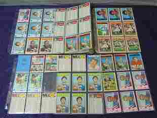 1972 Topps Football Card Lot.