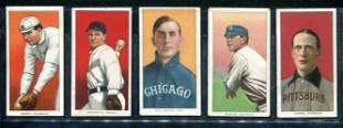 Lot of (5) T-206 Cards.