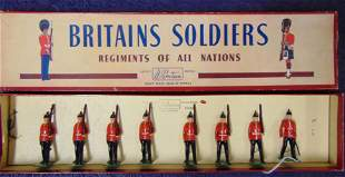 Britains #76 Middlesex Regiment Boxed.