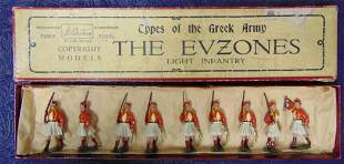 Britains #196 Evzones. Boxed Set.