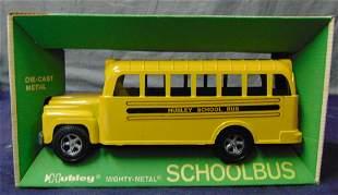 Hubley Mint in Box School Bus.