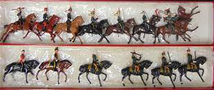 Britains. Lot (14) Mounted.