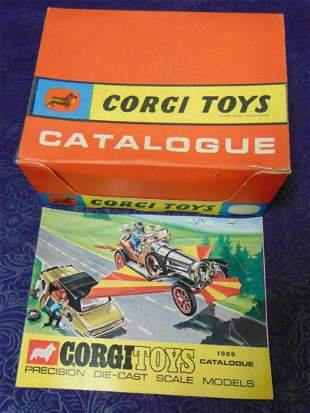 Corgi.Scarce 1969 Catalogue Store Display Box.