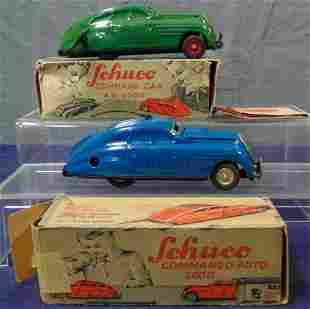 2 Boxed Schuco 2000 Commando Cars