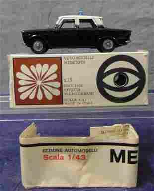 Boxed Mebetoys A15 Fiat 1500 Civetta Vigili