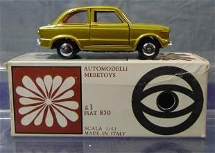 Boxed Mebetoys A1 Fiat 850
