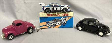 3 Pc Toy Vehicle Lot