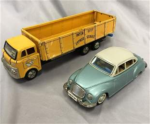 2 Nice Japanese Tin Vehicles