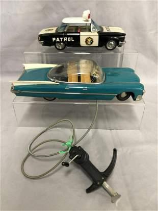 Two Litho Tin Vehicles