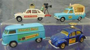 4 Vintage Corgi Vehicles
