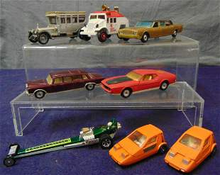 8 Assorted Corgi Vehicles