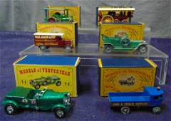 4 Boxed Matchbox King Size Vehicles