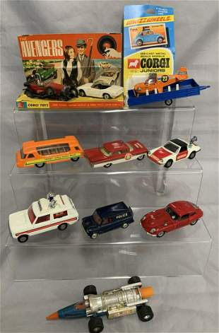 Corgi Vehicle Lot