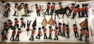 32 Assorted Britains Coldstream Guards